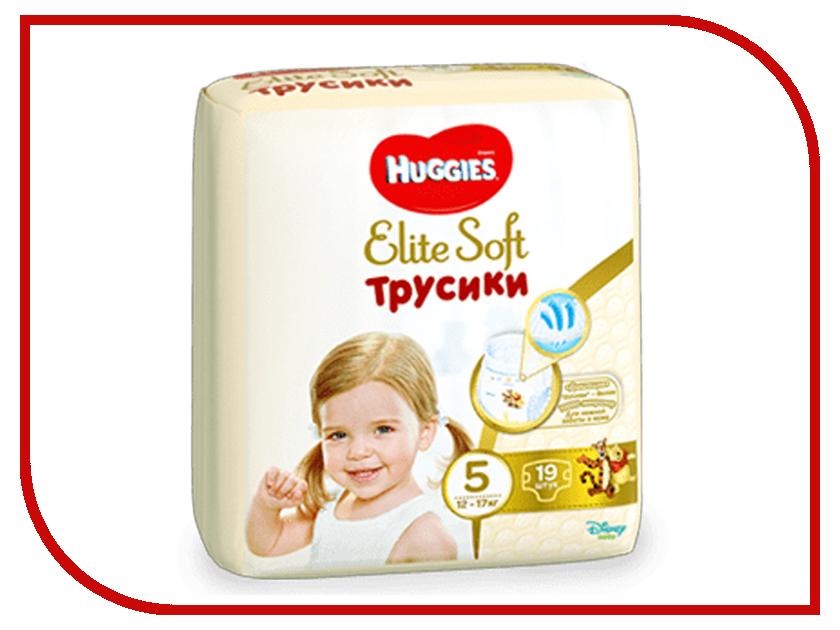 Подгузники Huggies Elite Soft Конв-Пак 5 12-17кг 19шт