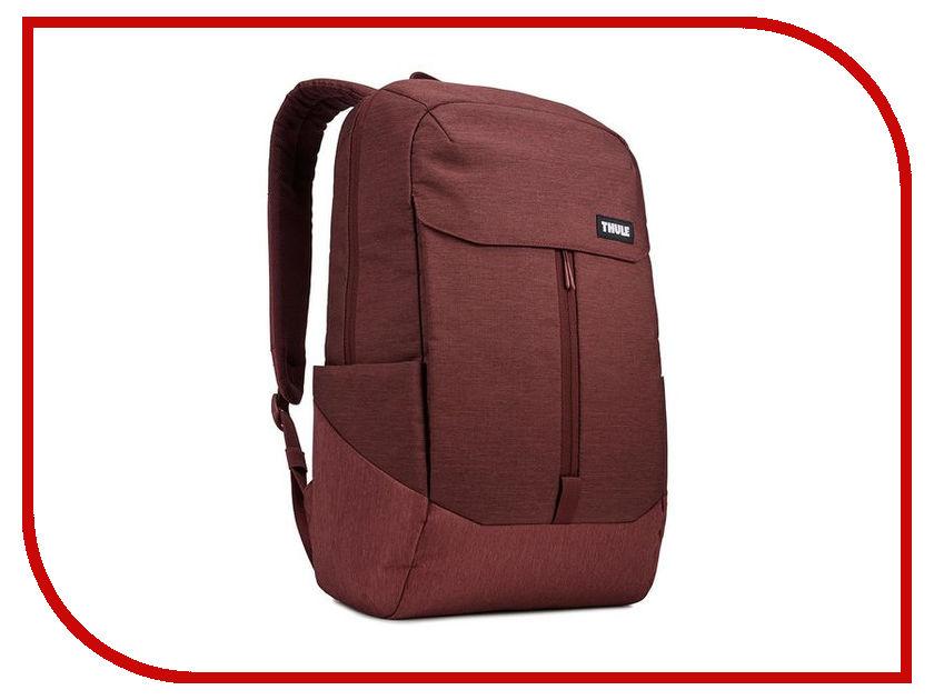 Рюкзак Thule Lithos Backpack 20L Dark Burgundy 3203634 рюкзак thule stir 20l fjord 3203553
