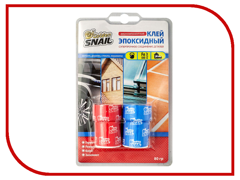 Клей Golden Snail эпоксидный 80g GS 8205 / 8105 golden snail 72v60v