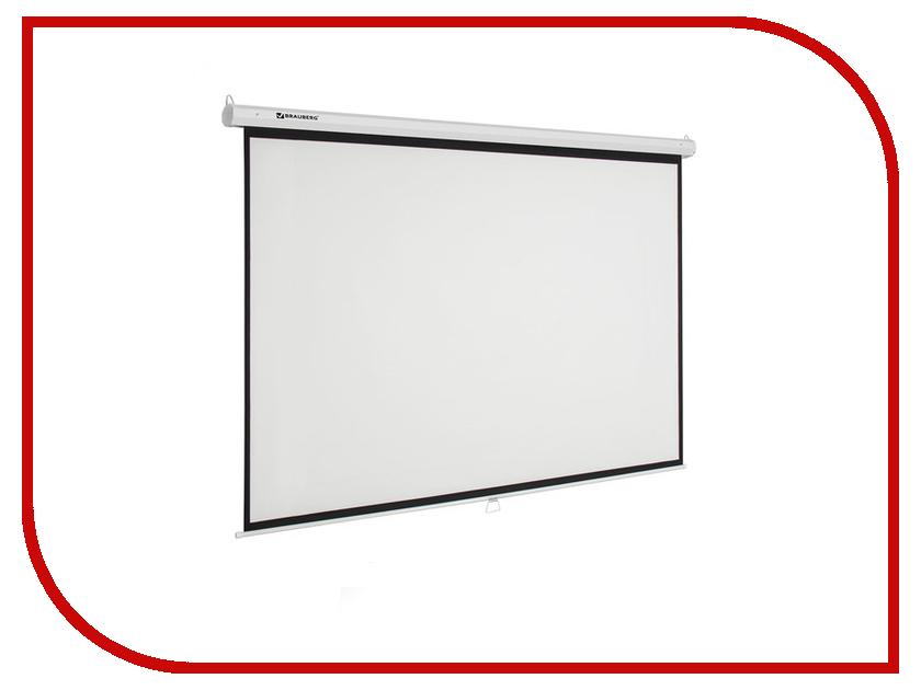 Экран Brauberg Wall 236727