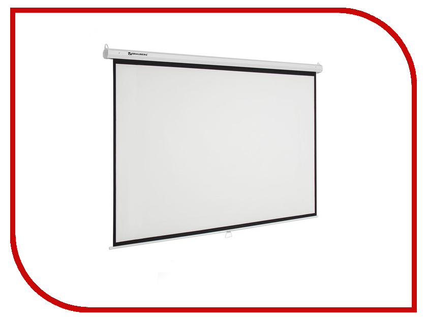 Экран Brauberg Wall 236726