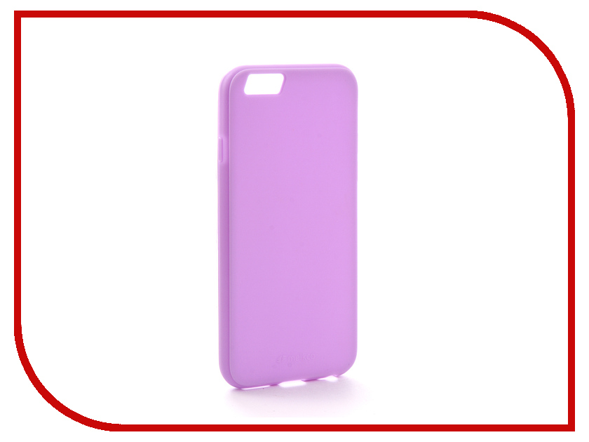 Аксессуар Чехол Melkco Silicone TPU для APPLE iPhone 6/6S Purple 6459 аксессуар чехол eva silicone для apple iphone 6 6s black carbon ip8a012b 6