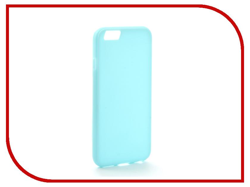 Аксессуар Чехол Melkco Silicone TPU для APPLE iPhone 6/6S Light-Blue 6457 чехол apple leather case для iphone 6 6s plus