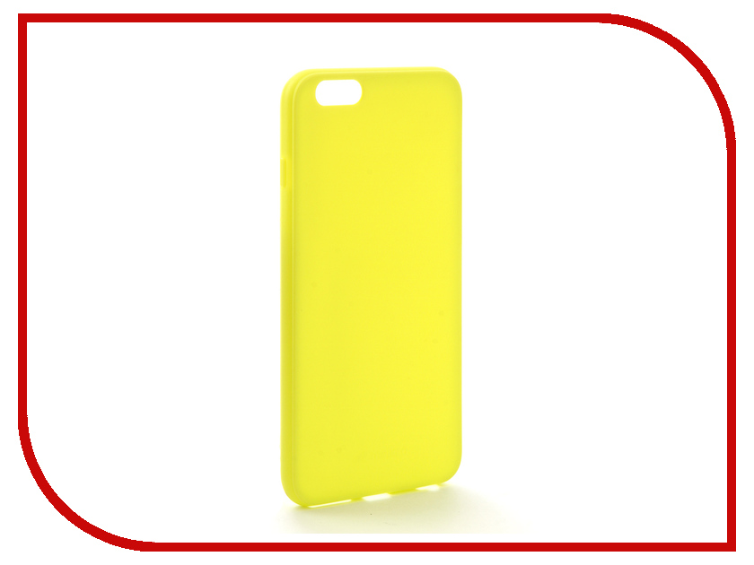 Аксессуар Чехол Melkco Silicone TPU для APPLE iPhone 6 Plus Yellow 6712 replacement assembly parts buzzer ringer loud speaker for iphone 6