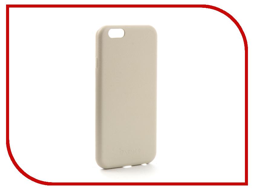 Аксессуар Чехол Melkco Armor для APPLE iPhone 6/6S Cream 6795 чехол для apple iphone 6 6s sgp ultra hybrid metal slate