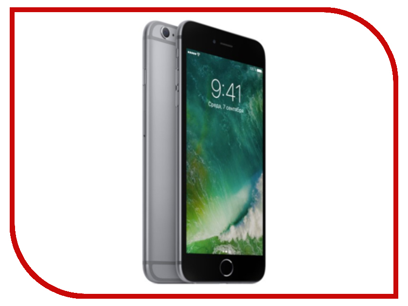 Сотовый телефон Apple iPhone 6S Plus 16GB Space Gray восстановленный фотонабор olloclip studio для apple iphone 6 6s plus black oc 0000169 eu