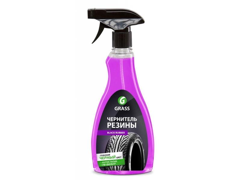Средство чистящее и полирующее GRASS Black Rubber 500ml 121105