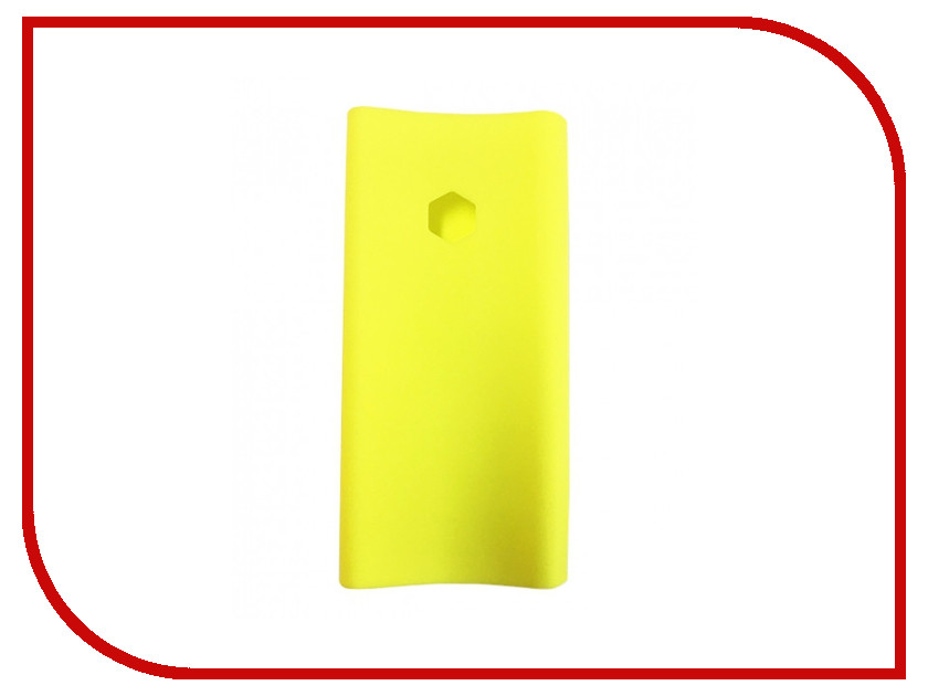Аксессуар Чехол Xiaomi Silicone Case for Power Bank 2C 20000mAh Yellow аксессуар чехол xiaomi silicone case for power bank 2c 20000mah blue