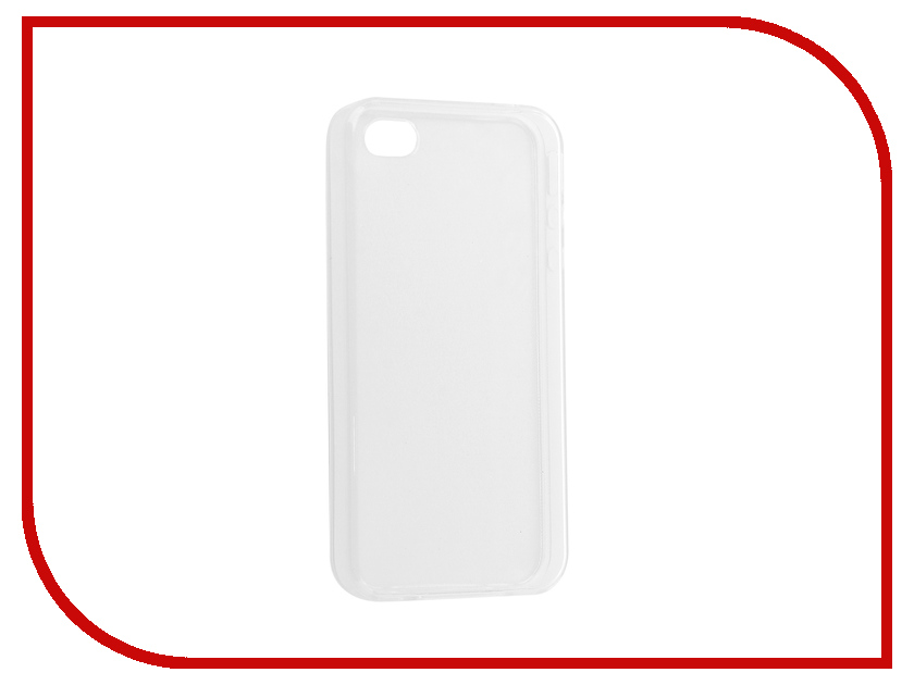 Аксессуар Чехол-накладка Innovation Silicone 0.33mm для APPLE iPhone 4/4S Transparent 12000 s what protective aluminum alloy bumper frame for iphone 4 4s black