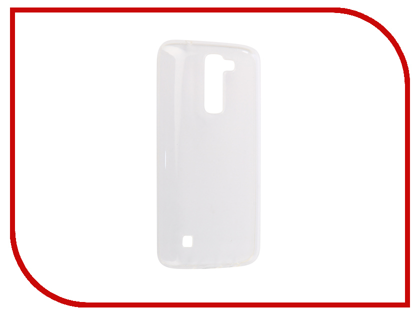 Аксессуар Чехол-накладка для LG X210DS K7 Innovation Silicone 0.3mm Transparent 12008 аксессуар чехол накладка lenovo a536 activ silicone white mat 44240