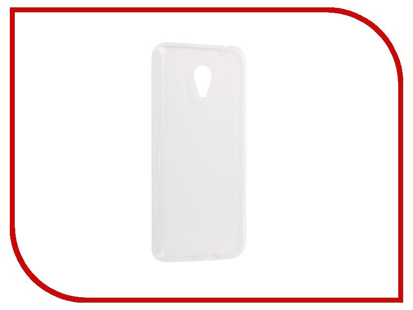 Аксессуар Чехол-накладка для Meizu M3S Mini Innovation Silicone 0.33mm Transparent 12012