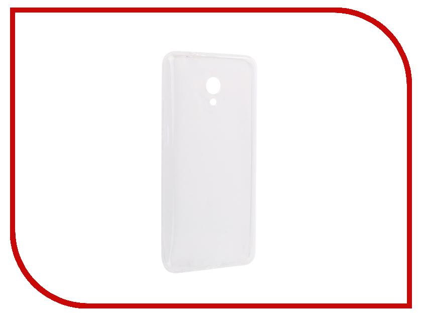 Аксессуар Чехол-накладка для Meizu M5S Innovation Silicone 0.3mm Transparent 12015