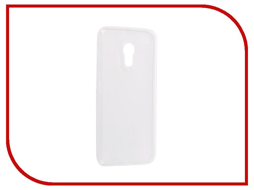 Аксессуар Чехол-накладка для Meizu Pro 6 Innovation Silicone 0.33mm Transparent 12016