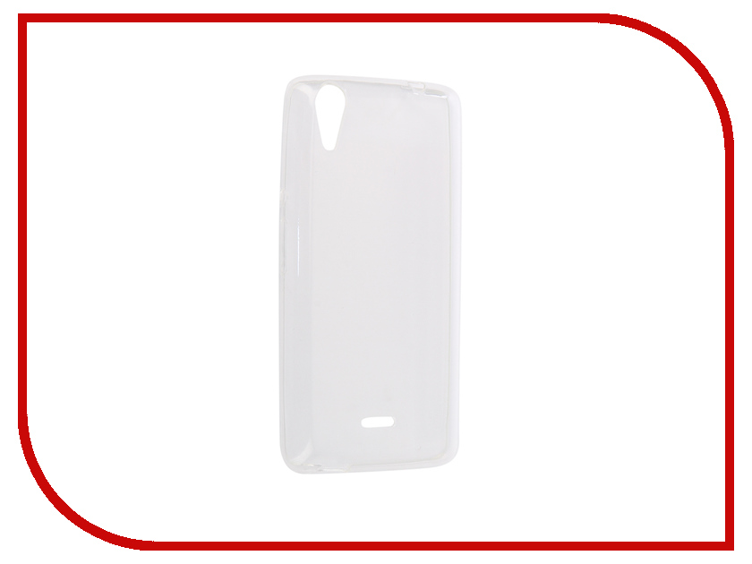Аксессуар Чехол-накладка для Micromax Q340 Innovation Silicone 0.3mm Transparent 12022 аксессуар чехол micromax q450 canvas silver 5 activ flip case leather yellow 55387