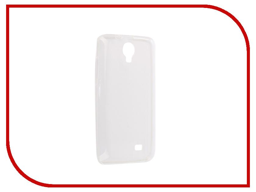 Аксессуар Чехол-накладка для Micromax Q383 Innovation Silicone 0.3mm Transparent 12023 аксессуар чехол накладка micromax canvas viva a106 activ silicone black mat 46857