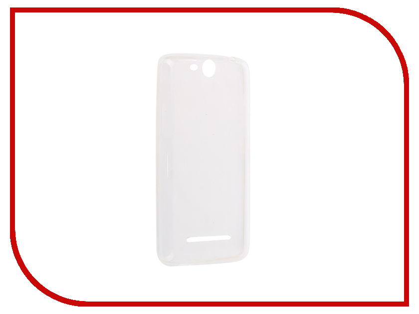 Аксессуар Чехол-накладка для Micromax Q392 Innovation Silicone 0.3mm Transparent 12024 аксессуар чехол micromax q450 canvas silver 5 activ flip case leather yellow 55387