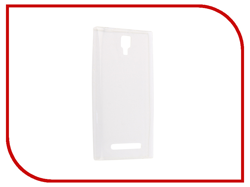 Аксессуар Чехол-накладка для Micromax Q413 Innovation Silicone 0.3mm Transparent 12025 аксессуар чехол micromax q450 canvas silver 5 activ flip case leather yellow 55387
