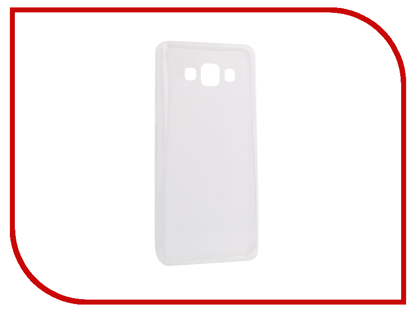 Аксессуар Чехол-накладка Samsung Galaxy A5 2016 Innovation Silicone 0.3mm Transparent 12027 аксессуар чехол для samsung galaxy a5 2017 innovation silicone yellow 10644
