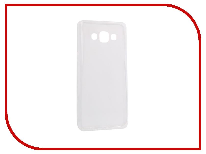 Аксессуар Чехол-накладка Samsung Galaxy A5 2016 Innovation Silicone 0.3mm Transparent 12027 аксессуар чехол для samsung galaxy a5 2017 innovation book silicone red 12147