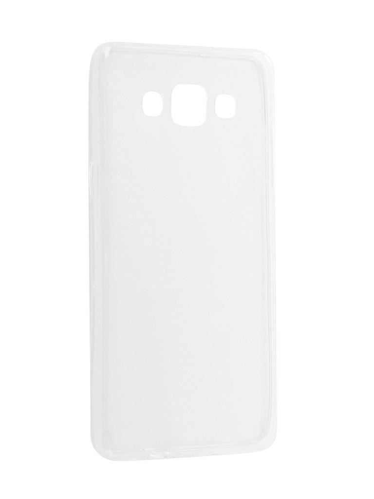 Аксессуар Чехол Innovation для Samsung Galaxy A5 2017 Silicone 0.3mm Transparent 12028 аксессуар чехол для samsung galaxy j7 j730 2017 gecko transparent glossy white s g sgj7 2017 wh