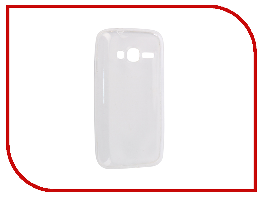 Аксессуар Чехол-накладка Samsung Galaxy J106 Mini Prime 2016 Innovation Silicone 0.33mm Transparent 12032 аксессуар чехол для samsung galaxy a5 2017 innovation silicone coral 10646