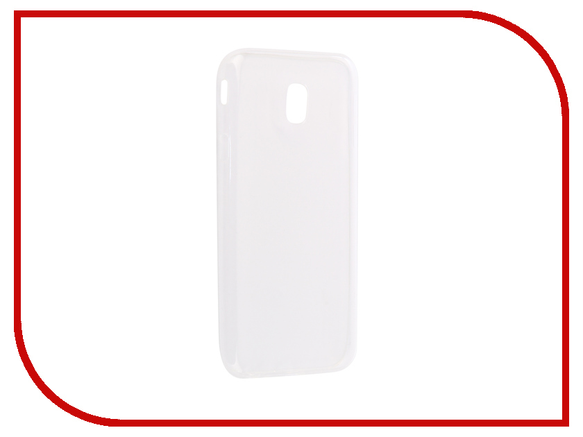 Аксессуар Чехол-накладка Samsung Galaxy J3 2017 Innovation Silicone 0.33mm Transparent 12035 аксессуар чехол для samsung galaxy j3 2016 onext silicone transparent 70508