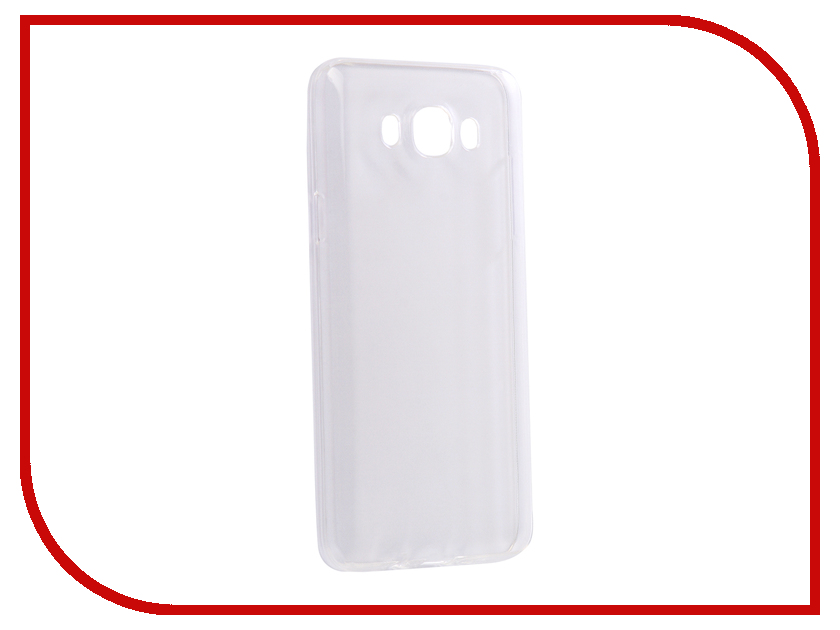 Аксессуар Чехол-накладка для Samsung Galaxy J7 2016 Innovation Silicone 0.33mm Transparent 12037 телефон samsung galaxy j7