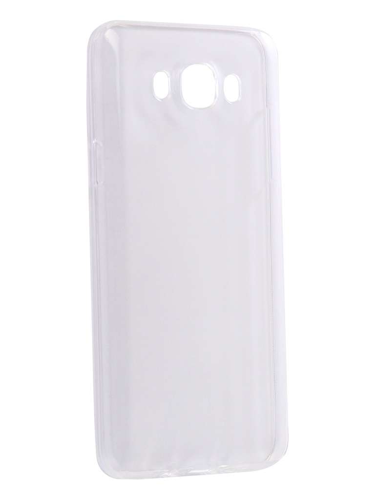 Аксессуар Чехол-накладка Innovation для Samsung Galaxy J7 2016 Silicone 0.33mm Transparent 12037 цена и фото