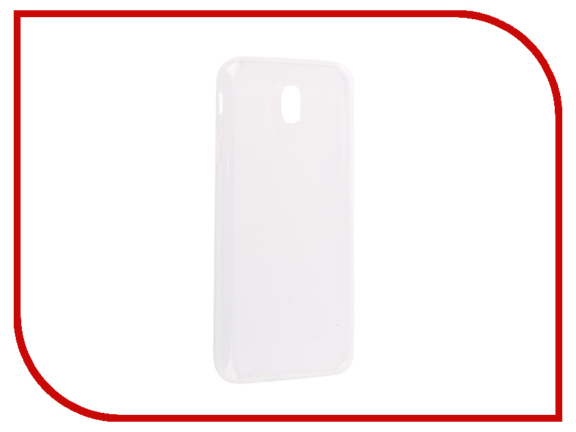 Аксессуар Чехол-накладка Samsung Galaxy J7 2017 Innovation Silicone 0.33mm Transparent 12038 аксессуар чехол для samsung galaxy a5 2017 innovation silicone coral 10646