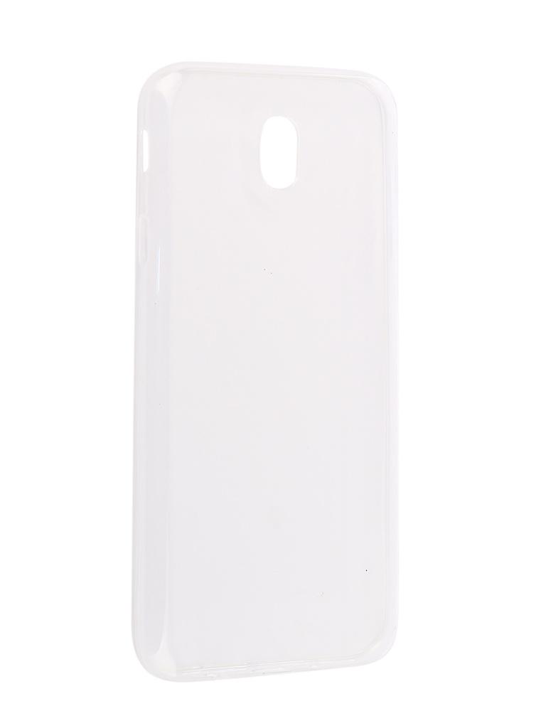 Аксессуар Чехол Innovation для Samsung Galaxy J7 2017 Silicone 0.33mm Transparent 12038 аксессуар чехол для samsung galaxy j7 j730 2017 gecko transparent glossy white s g sgj7 2017 wh