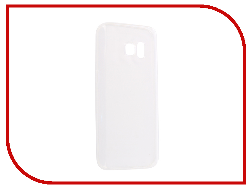 Аксессуар Чехол-накладка Samsung Galaxy S7 SM-G930 Innovation Silicone 0.33mm Transparent 12041 цена 2017