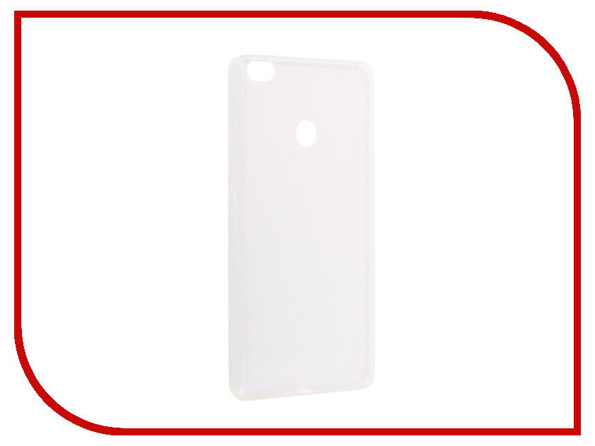 Аксессуар Чехол-накладка для Xiaomi Mi Max Innovation Silicone 0.3mm Transparent 12043 rugged spider armor heavy duty hybrid tpu silicone stand impact cover for xiaomi mi max case