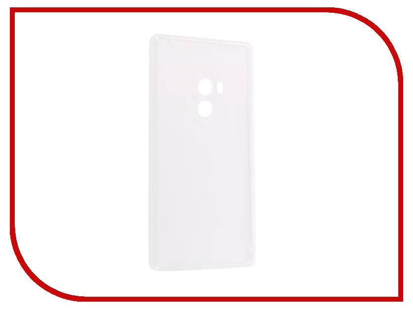 Аксессуар Чехол-накладка для Xiaomi Mi Mix Innovation Silicone 0.3mm Transparent 12044 кейс для назначение xiaomi mi 8 mi 6x матовое кейс на заднюю панель однотонный твердый пк для xiaomi mi mix 2 xiaomi mi mix 2s xiaomi mi 8