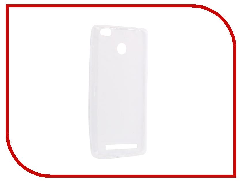 Аксессуар Чехол-накладка для Xiaomi Redmi 3S Innovation Silicone 0.33mm Transparent 12049 аксессуар чехол для xiaomi redmi s2 ibox crystal transparent