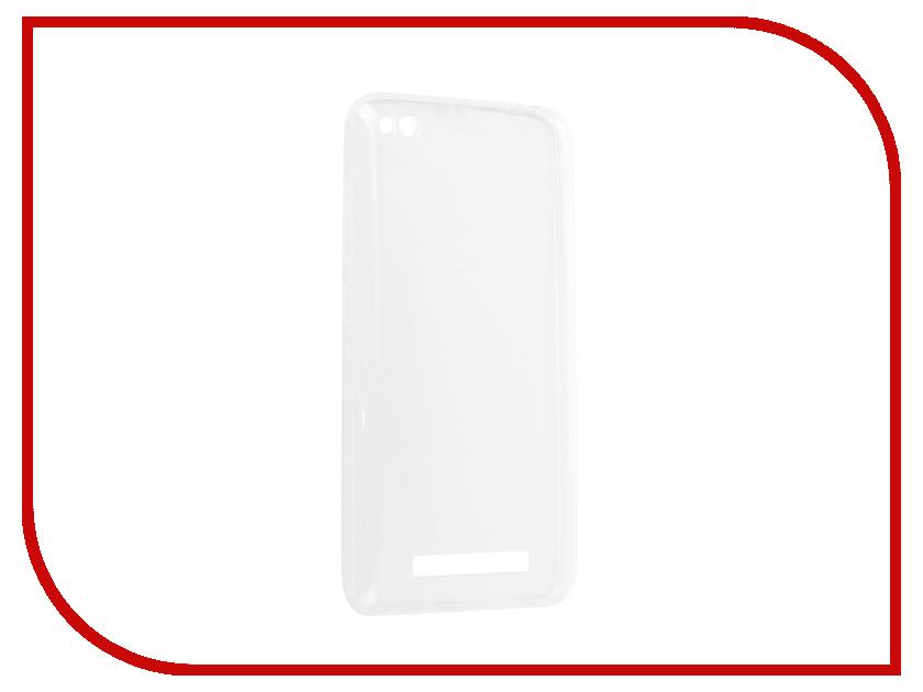 Аксессуар Чехол-накладка Xiaomi Redmi 4A Innovation Silicone 0.3mm Transparent 12050 аксессуар чехол xiaomi redmi 4a borasco silicone
