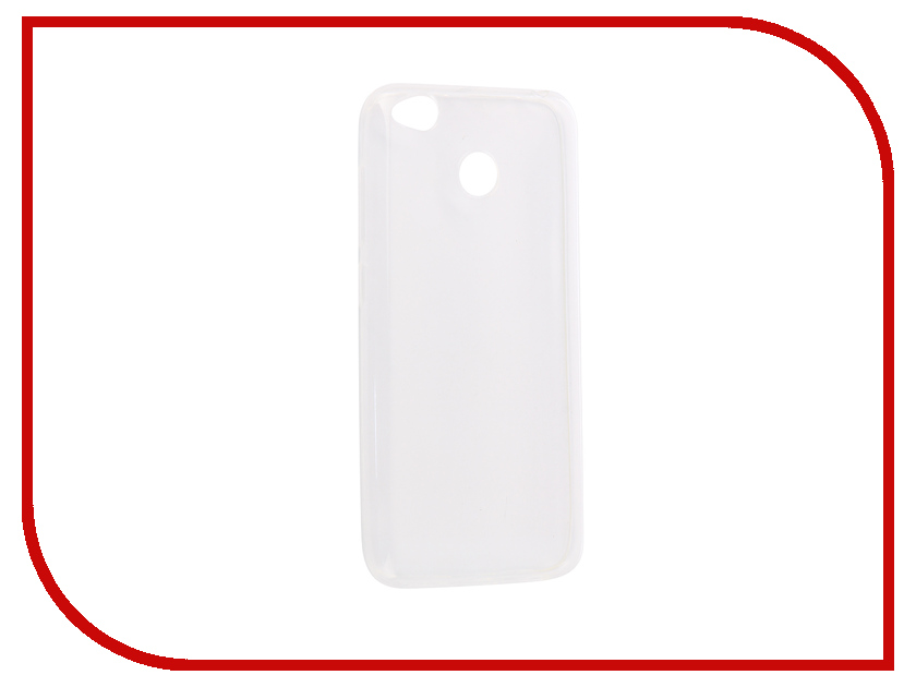 Аксессуар Чехолнакладка Xiaomi Redmi 4X Innovation Silicone 03mm Transparent 12051