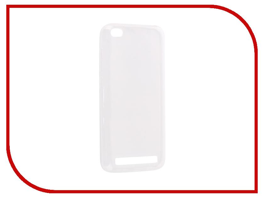 Аксессуар Чехол-накладка для Xiaomi Redmi 5A Innovation Silicone 0.3mm Transparent 12054