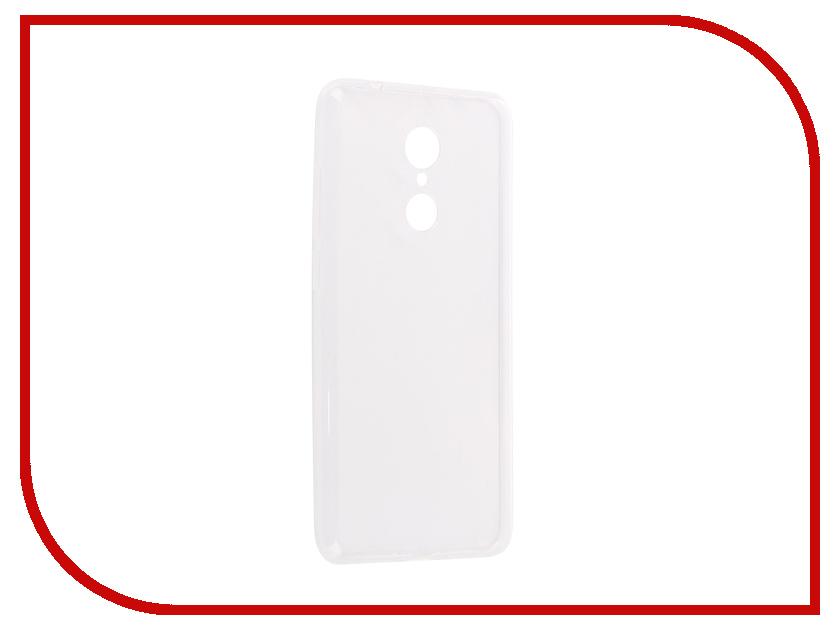 Аксессуар Чехол-накладка для Xiaomi Redmi 5 Innovation Silicone 0.3mm Transparent 12053