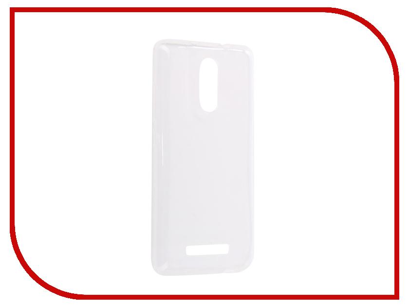 Аксессуар Чехол-накладка для Xiaomi Redmi Note 3 Innovation Silicone 0.33mm Transparent 12055 цена