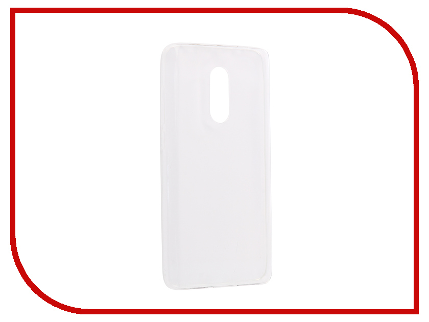 Аксессуар Чехол-накладка для Xiaomi Redmi Note 4X Innovation Silicone 0.33mm Transparent 12056 xiaomi redmi note 4x 4g phablet