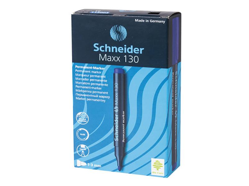 Маркер Schneider Maxx 130 1-3mm Blue 113003
