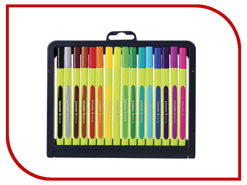 цены Ручка капиллярная Schneider Line-Up набор 16 цветов 191092