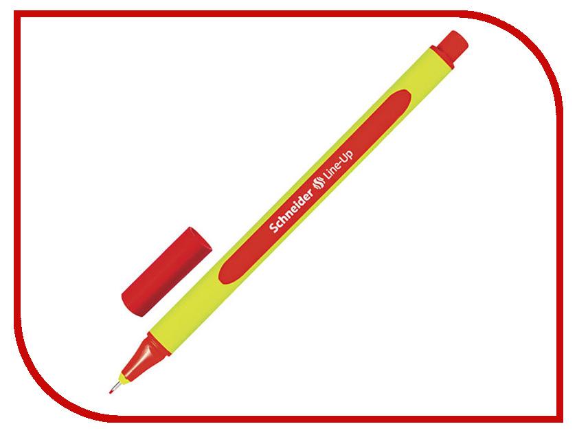 Ручка капиллярная Schneider Line-Up Scarlet 191002 ши наайд schneider механический карандаш профессиональный графический дизайн инженеры ручка 0 5mm
