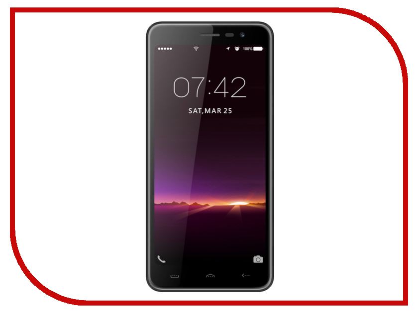 Сотовый телефон Ark Zoji S12 Black мобильный телефон ark benefit u281 белый 2 8 32 мб 3 симкарты