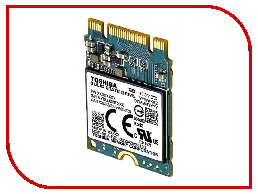 Жесткий диск 256Gb - Toshiba BG3 KBG30ZMS256GA
