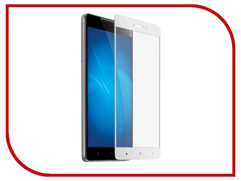 Аксессуар Защитное стекло для Xiaomi Redmi 5A Red Line Full Screen Tempered Glass White УТ000014578 аксессуар защитное стекло xiaomi redmi 4x 5 0 red line full screen tempered glass black