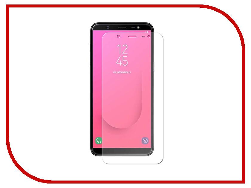 Аксессуар Защитное стекло для Samsung Galaxy J8 2018 Red Line Tempered Glass УТ000015882 аксессуар защитное стекло microsoft lumia 950 red line tempered glass