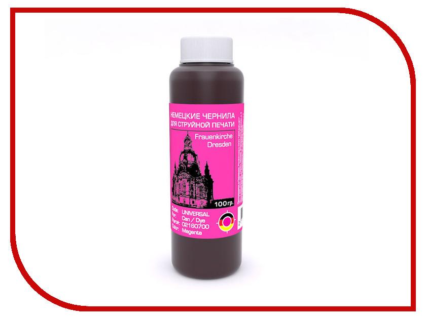 Чернила Bursten Magenta для картриджей CAN 100g чернила bursten bk c m y для картриджей eps 500g х4