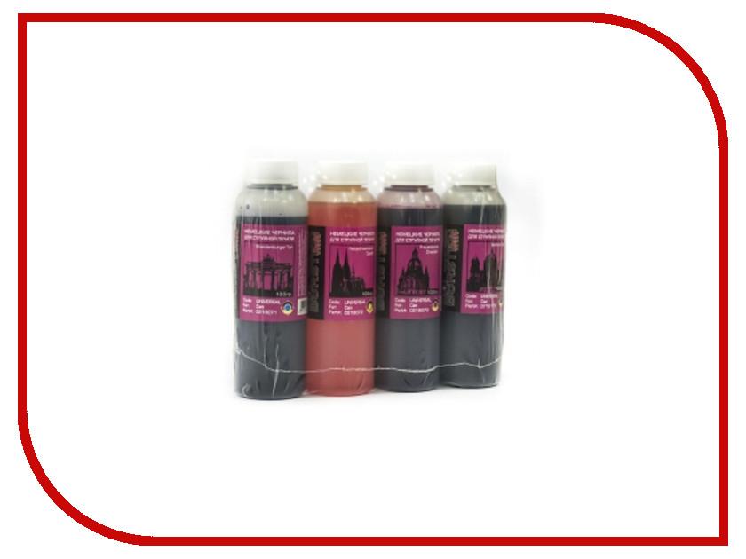 Чернила Bursten BKP/C/M/Y для картриджей HP 100g х4 чернила bursten bk c m y для картриджей eps 500g х4
