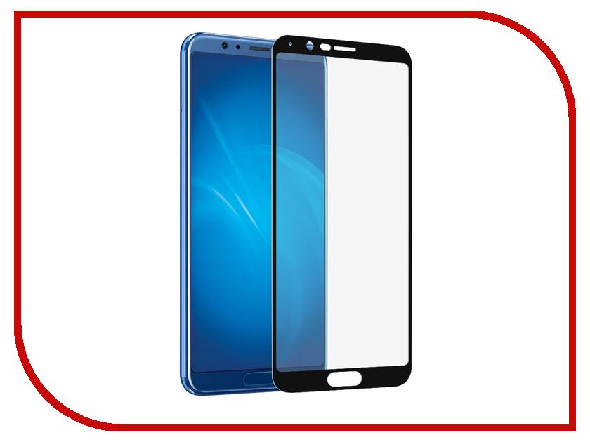 Аксессуар Защитное стекло для Huawei Honor V10 Media Gadget 2.5D Full Cover Glass Black Frame MGFCHHV10BK аксессуар защитное стекло для huawei honor y9 2018 luxcase 3d full screen black frame 77921